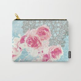 Roses and lace Carry-All Pouch