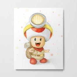 Captain Toad Metal Print