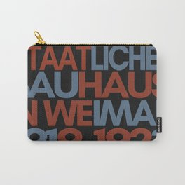 Bauhaus Poster Carry-All Pouch