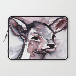 Fawn, Watercolor Laptop Sleeve