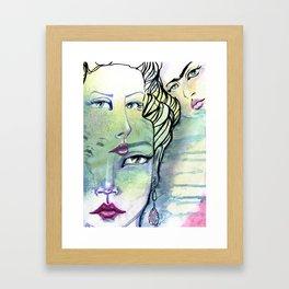 Fridalicious by Jane Davenport Framed Art Print