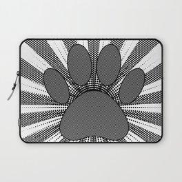 Dog Paw Print Manga Style Laptop Sleeve
