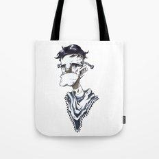 Frankenstein Hipster Tote Bag
