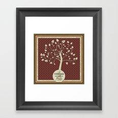 Together We Make A Family Framed Art Print