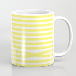 Stripes - Baby Yellow Coffee Mug