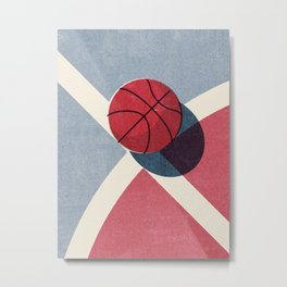 BALLS / Basketball (Outdoor) Metal Print