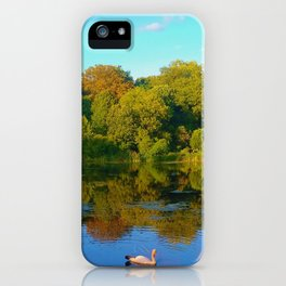 Chillin' in London iPhone Case
