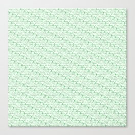 tester green Canvas Print