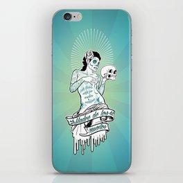 Madre de los Muertos iPhone Skin