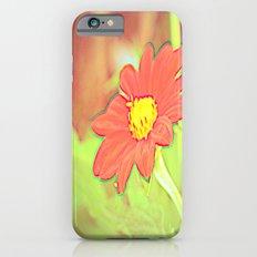 positve negative pop daisy ~ flower Warholia iPhone 6s Slim Case