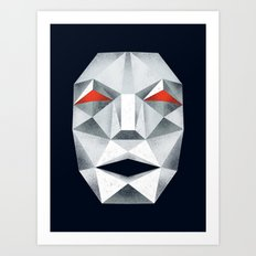 Star Fox Andross Lylat Lowpoly Laugher Art Print