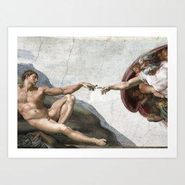 Creation of Juul Art Print