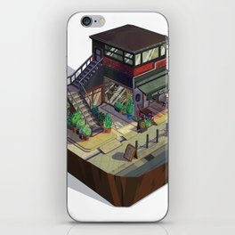 Coffee Shop iPhone Skin