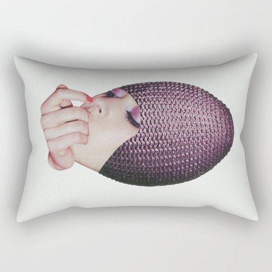 Hand Grenade Rectangular Pillow