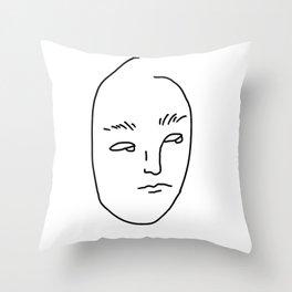 SORRY MOM I'M TOO BORED Throw Pillow
