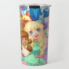 Dollightful Banner Art 2018 Travel Mug