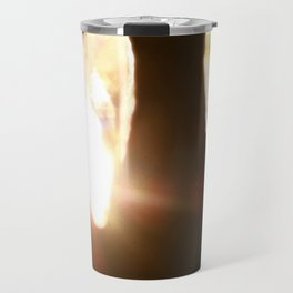 Chandelier Golden Brown Travel Mug