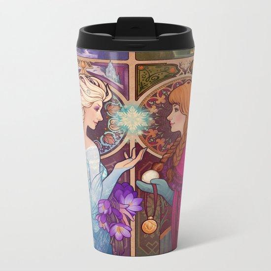 Let Me In Metal Travel Mug