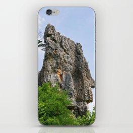 Shilin limestone pinnacles - Yunnan, China iPhone Skin