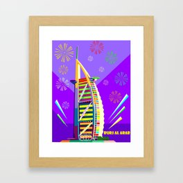 Al buruj Tower Framed Art Print