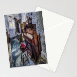 Olde Church Organ Stationery Cards