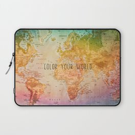 Color your World Laptop Sleeve