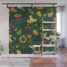 Bright autumn Wall Mural