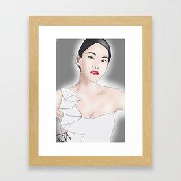 Arden Cho Framed Art Print