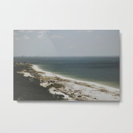 on the coast of florida Metal Print