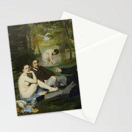 "Édouard Manet ""Le déjeuner sur l'herbe (Luncheon on the Grass)"" Stationery Cards"