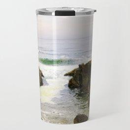 Yachats Oregon - Upon The Rocks Travel Mug