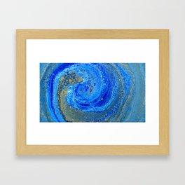 Spinning to infinity Framed Art Print