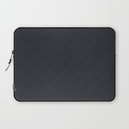 Charcoal Checkers Laptop Sleeve
