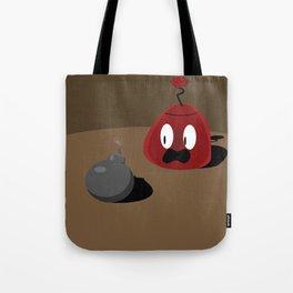 Red Mo'Jhon Tote Bag