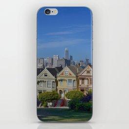 Painted Ladies San Francisco CA iPhone Skin