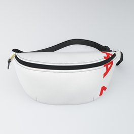 Obama 2020 graphic, Pro Barack & Anti Trump Supporter Tee Fanny Pack