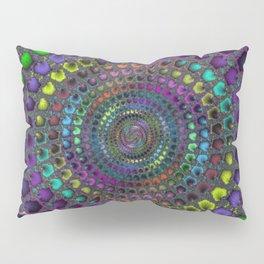Fractal Mosaic Pillow Sham