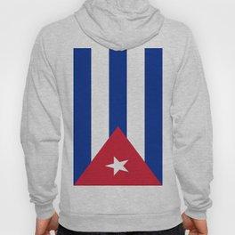 Flag of Cuba -cuban,havana, guevara,che,castro,tropical,central america,spanish,latine Hoody