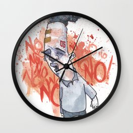 Toxic Thoughts Wall Clock