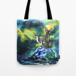 The arrival sphinx version Tote Bag