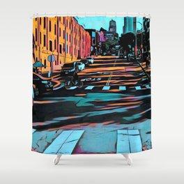 Hyde Street, San Francisco Shower Curtain