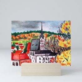 Cesky Krumlov Mini Art Print