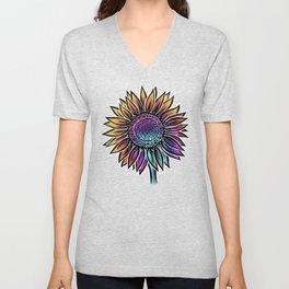 Sunflower- Catalyst Gardens Unisex V-Neck
