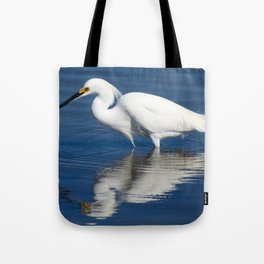 Bird series: Snowy Egret Tote Bag