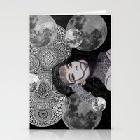 bjork Stationery Cards featuring Bjork by Luna Portnoi