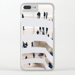 BUSY Clear iPhone Case