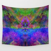 avatar Wall Tapestries featuring Avatar by Assiyam