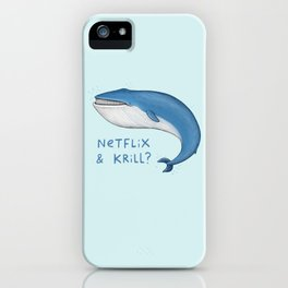 Netflix & Krill iPhone Case