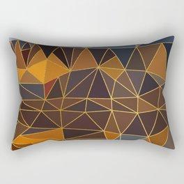 Autumn abstract landscape 3 Rectangular Pillow
