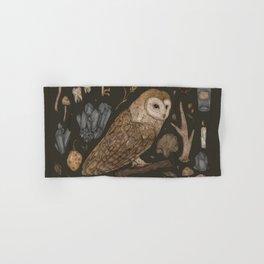 Harvest Owl Hand & Bath Towel
